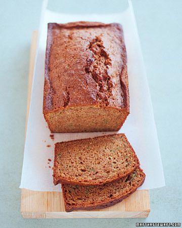 Zucchini Spice Bread - Martha Stewart Recipes