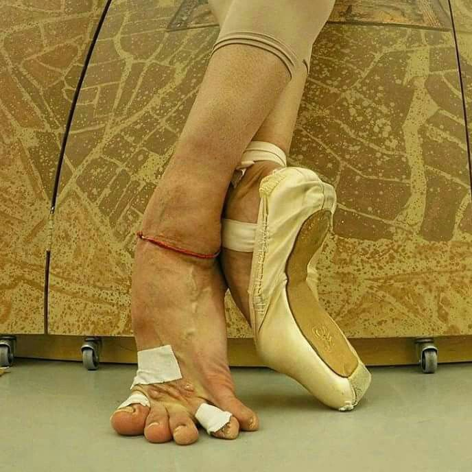 этом ноги балерин без пуант картинки начинающий