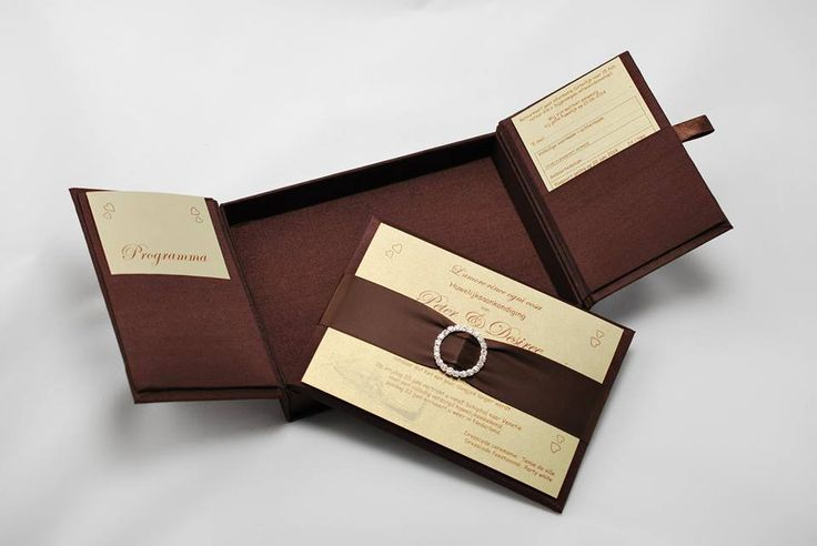 Your special day, starts with the invitations...