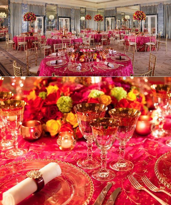 35 best asian wedding ideas images on pinterest conch fritters red gold wedding theme junglespirit Images