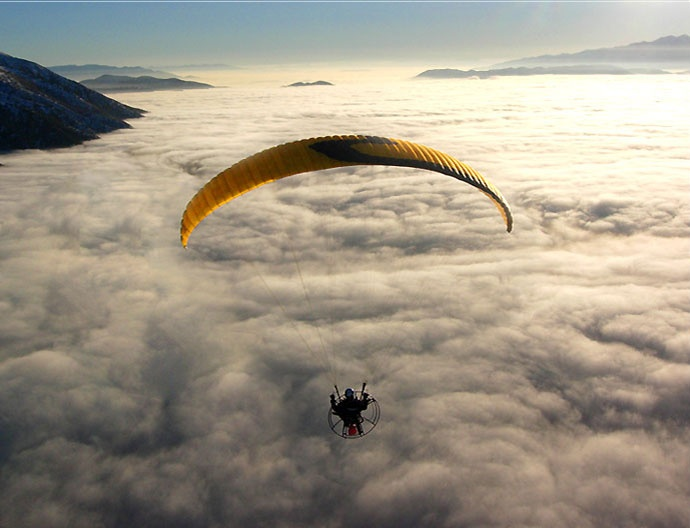 Getting High with Powered Paragliding