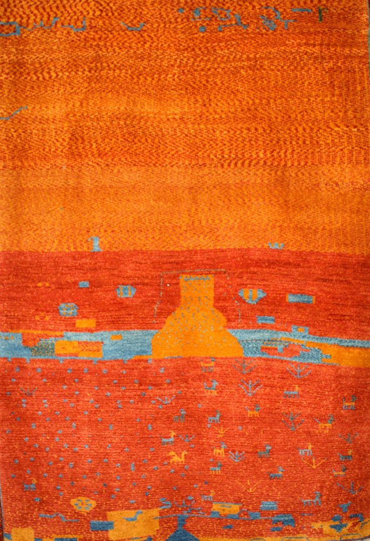 blue field a and gashgai pieces rug htm qashqai gabbeh madder corner rugs in yellow arfp with