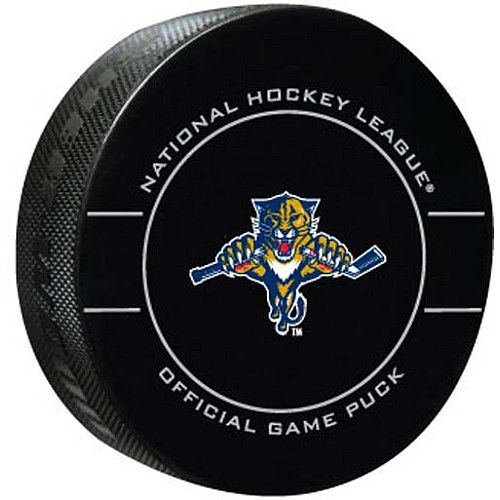 Florida Panthers Team Puck