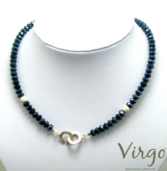 Handmade Crystal Bead Silver 925 Elements and Silver 925 Clasp Necklace.  Size: approx. 42cm  We can resize for you, all of our jewelries, so feel free to ask!  Τhe necklace comes in a gift box!  Do you like this item? See more at: https://www.etsy.com/shop/VirgoHandmadeJewelry  Like us on Facebook:  https://www.facebook.com/VirgoHandmadeJewelry  or   follow us on Pinterest: www.pinterest.com/VirgoJewelry   Thanks for stopping by - Virginia