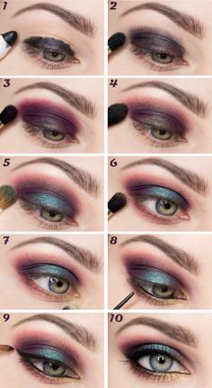 This tutorial could be used with Wet n Wild's trio in Cool as a cucumber. Cool as a cumberbatch ;)