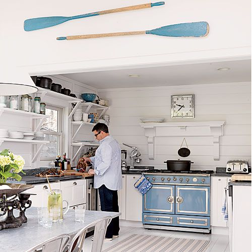 Dusk Blue Kitchen Cabinets: 72 Best Hamptons Style Kitchens Images On Pinterest
