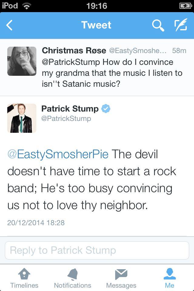 Patrick's twitter QnA's