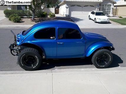 Blue Baja Extreme. I will own one of these in my lifetime. Hopefully