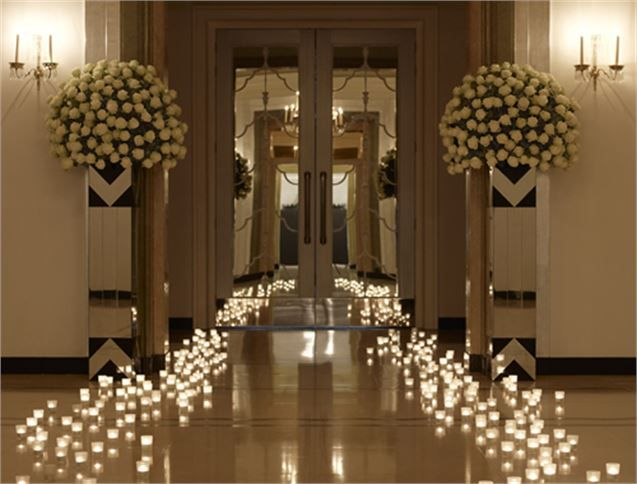 Ballroom entrance, Claridge's - Inspiration Gallery Wedding Venue Image
