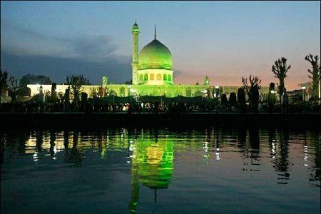 Hazratbal Shrine, Srinagar, Jammu & Kashmir, India