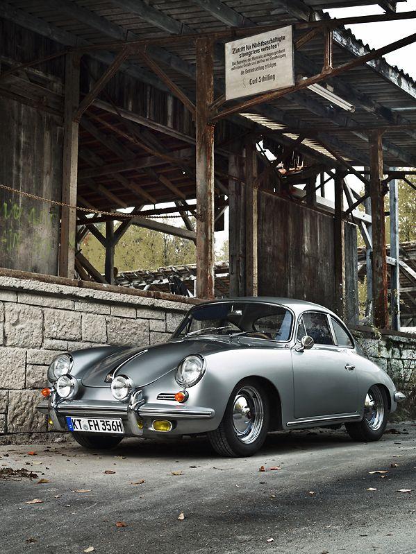 Porsche 356 type B super 90, built in 1963 - photo by Rolf Nachbar