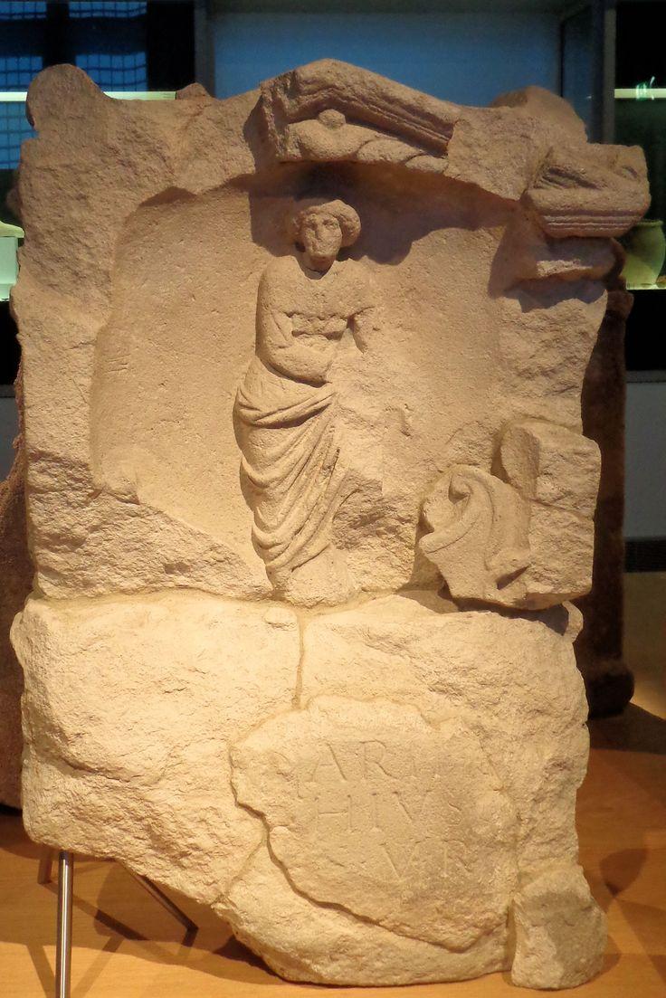 Nehallenia was een inheemse godin, die tussen ca. 180 en 230 in Zeeland werd vereerd. Zij was de beschermvrouwe van de kooplieden die de Noordzee bevoeren en bij Domburg een veilige haven vonden. De godin werd vaak zittend op een troon met vruchten op schoot afgebeeld, met aan haar zijden een korf met fruit en een hond.