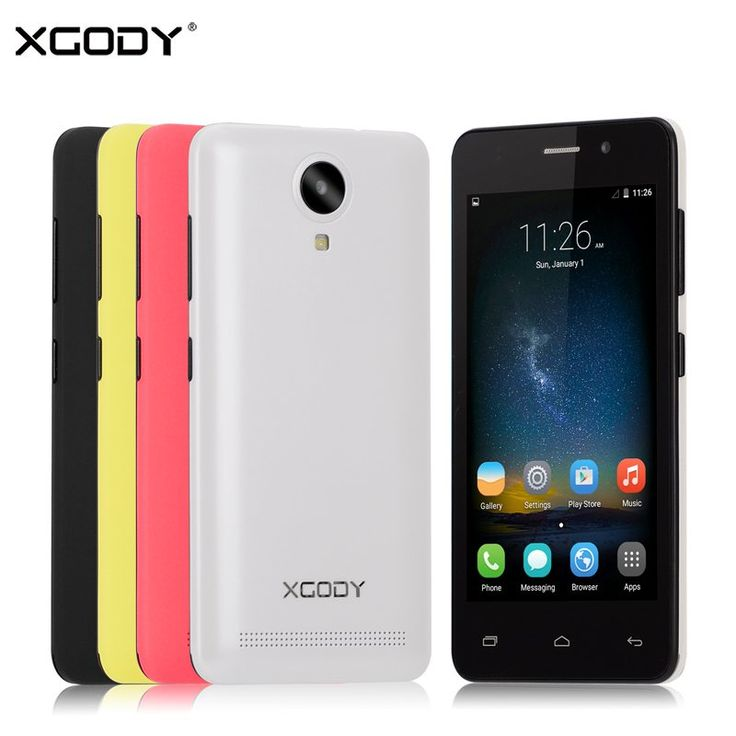 XGODY G12 3G 4.5 Inch Android Smartphone Quad Core MTK6580 1GB RAM 8GB ROM 5.0MP GPS WiFi Dual SIM Phone Unlocked Cell Phones //Price: $74.16//     #shop