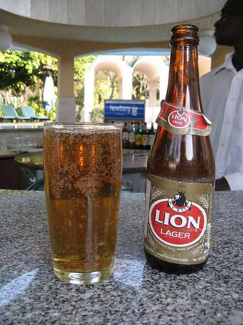 Rhodesian beer from the Salisbury Rhodesia site on FB