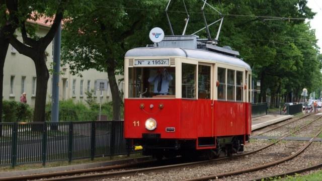 60. old streetcar, Gdansk, Poland