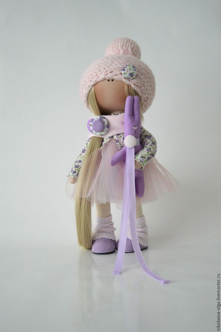 Купить Интерьерная текстильная кукла - кукла ручной работы, кукла интерьерная…