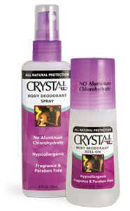 Crystal Body Deodorant contains natural mineral salts that will eliminate bacteria. Crystal Body Deodorant – The Original, All-Natural Body Deodorant