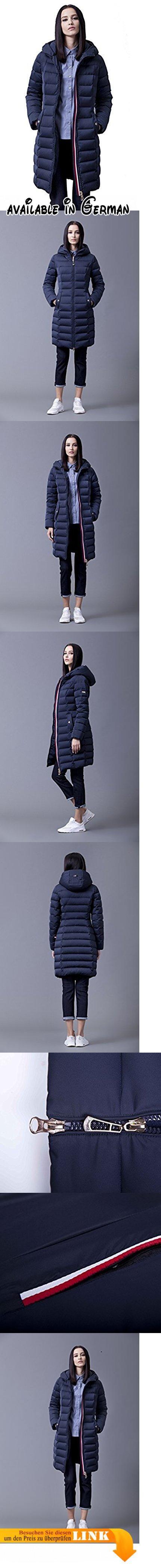 Sunrolan Damen Mantel Daunenmantel Steppmantel Wintermantel Daunenjacke mit Kapuze Slim Fit Steppjacke Dunkelblau L. Material Füllung: 70% Daunen, 30% Federn. Detail Kapuze: unabnehmbare Kapuze,gefütterte Kapuze. Taschen: zwei Außentaschen. Knielang und Tailliert. Hinweis: um die passende Größe auszuwählen, überprüfen Sie bitte Größentabelle in der Produktebeschreibung! #Apparel #OUTERWEAR
