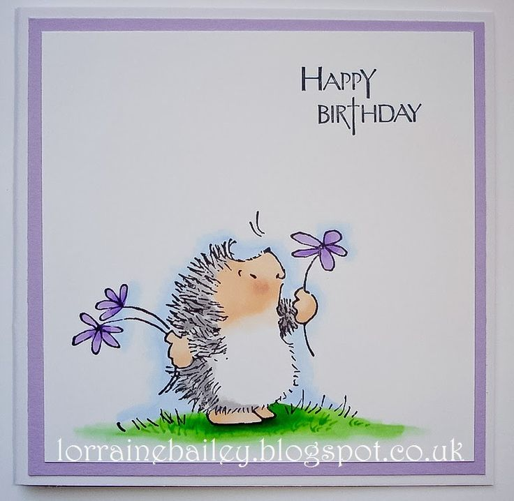 587 Best Hedgehog Cards Penny Black Images On Pinterest