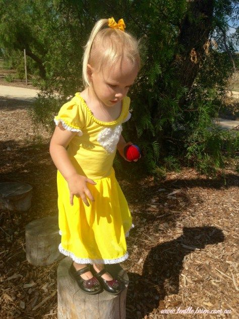 Yellow Ballerina Dress