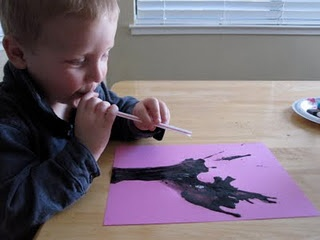 Blowing activity, great calming activity if using slow deep breaths. Repinned by Columbus Speech & Hearing Center. For more ideas visit pinterest.com/ColumbusSpeech