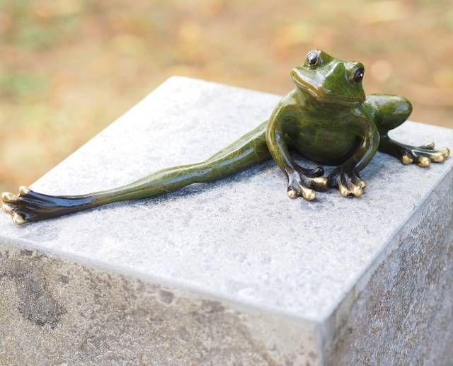 Grøn bronze frø