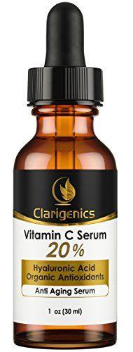 "THE BEST Age Spot Remover for Face and Hands - Clarigenics Dark Spot Corrector Serum and Melasma Treatment with 20% Vitamin C, Vegan Hyaluronic Acid & Organic Antioxidants Will Fade Dark Spots Until Your Mirror Says ""WOW"" Clarigenics http://www.amazon.com/dp/B00HMUDJXG/ref=cm_sw_r_pi_dp_UM-jvb0VN558E"