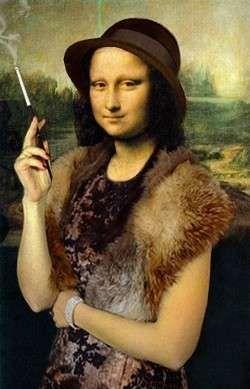 Mona 30s -- Mona Lisa Parodies #Joconde