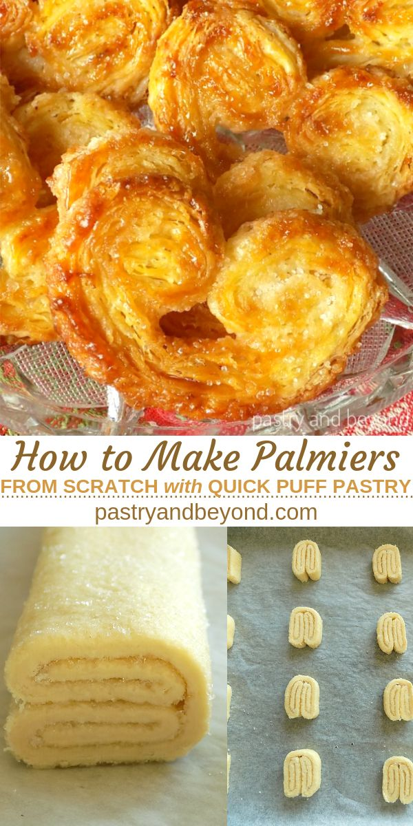 Palmier Pastry: You can learn how to make palmier recipe from scratch with quick…