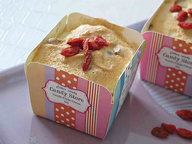 Soffici muffin agli albumi arricchiti dalle bacche di Goji, ricche di proprietà salutari!  #Cucina #ricette #dolci