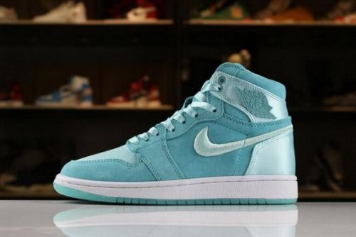 431607902ce800 Best Quality Womens Air Jordan 1 Retro High SOH Light Aqua White-Metallic  Gold AO1847-440