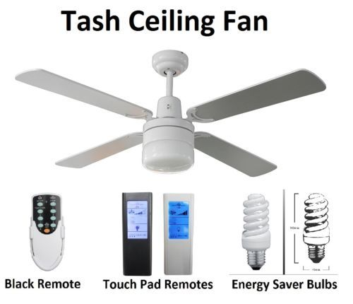 Fias-TASH-48-inch-ceiling-fan-with-Light-WHITE- Further Options Available - base price w/out extras $59.90 w/ free postage.