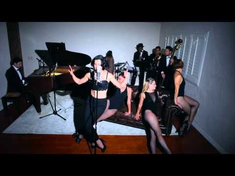 """Single Ladies - Vintage """"Chicago"""" / Fosse - Style Beyonce Cover ft. Ariana Savalas - YouTube"""