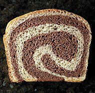 Marble Rye Bread recipe for making bread from scratch/