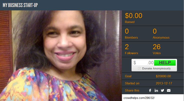 Judy Sophia Diass is trying to #raise funds to meet certain minimum requirements the bank needs in order to process a loan to purchase an existing Latin American Grocery Store in #Toronto. Support her #fundraising efforts here: http://www.crowdhelps.com/296/32