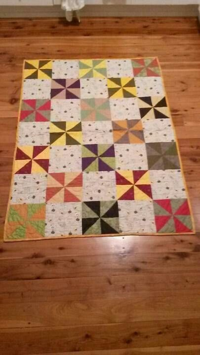 Baby quilt for Arlo.