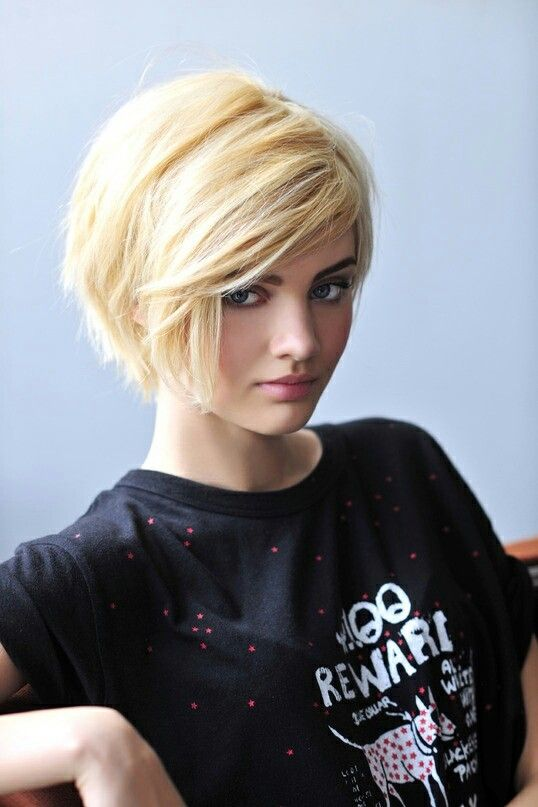 Try a thick, choppy bob for 2014 - Great Lengths extensions can help add volume to short hair styles #newyearhair