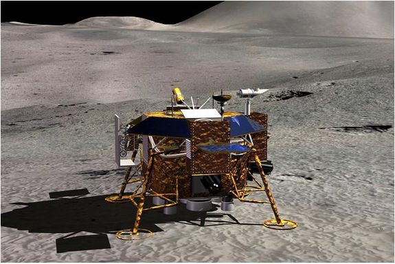 Chang'e 3 Photos: China's 1st Moon Lander & Rover Mission | Space.com