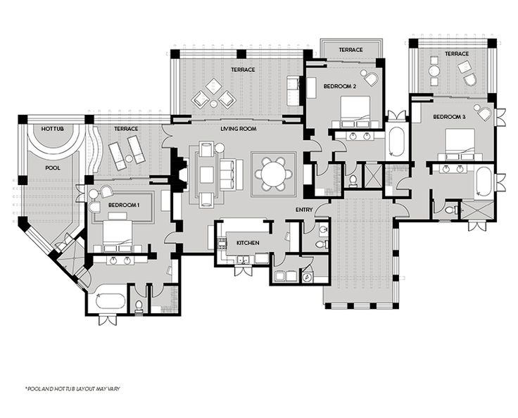 1000 images about home floorplans condos on pinterest for Luxury duplex floor plans