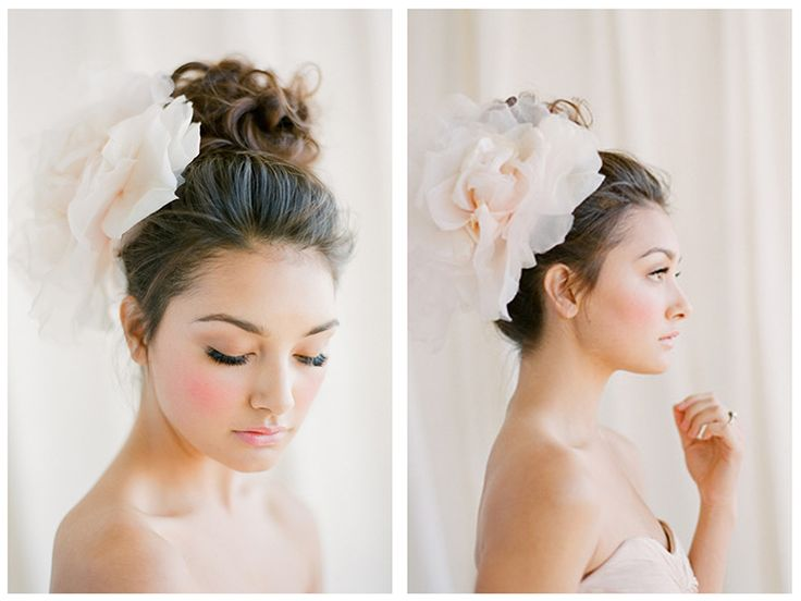 mimi & taylor: bridal beauty looks | featured in style me pretty 2.19.13