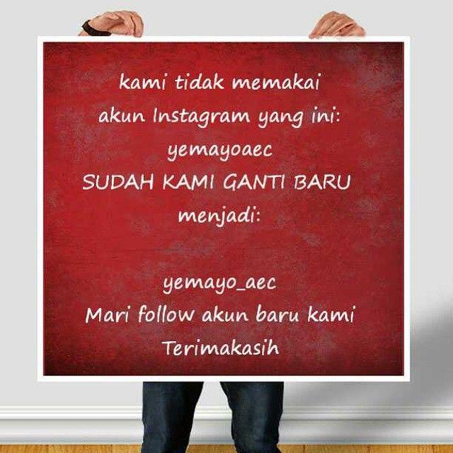 Kami ganti akun Instagram. Akun ini (yemayoaec) tidak kami pakai lagi. Kami memakai: yemayo_aec  #terimakasih #thankyou #jakarta #kursuskecerdasanpribadi #indonesia www.yemayo.com