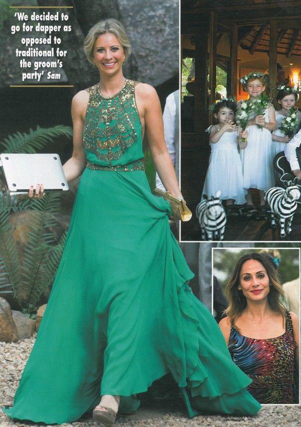 Holly branson wedding hello amanda wakeley beauty for Wedding dresses branson mo
