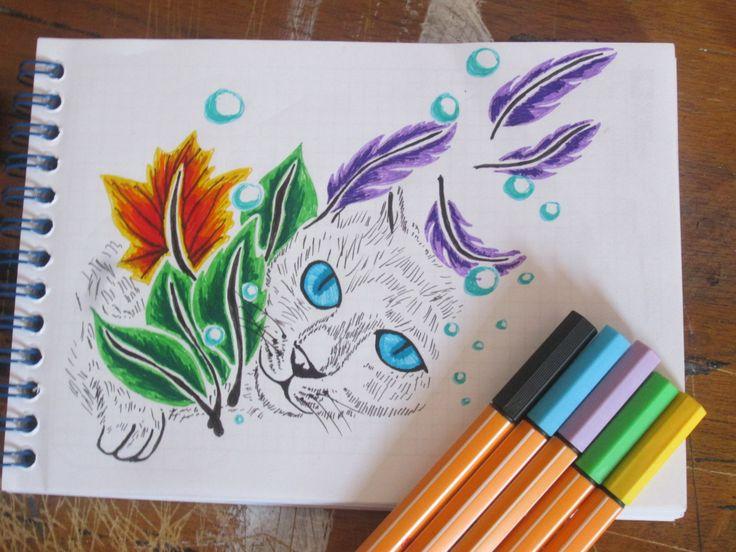 #draw #drawing #cat