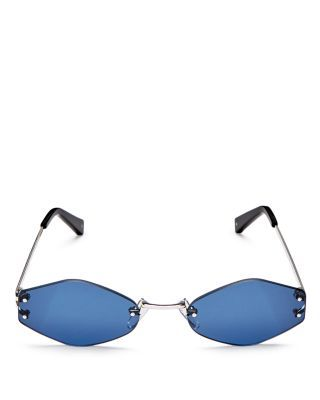2be4fb1a70 KENDALL AND KYLIE KENDALL AND KYLIE KYE RIMLESS OVAL SUNGLASSES ...