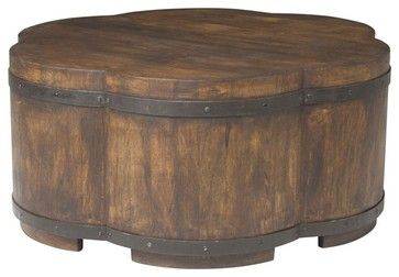 Cocktail Ottoman rustic-ottomans-and-cubes