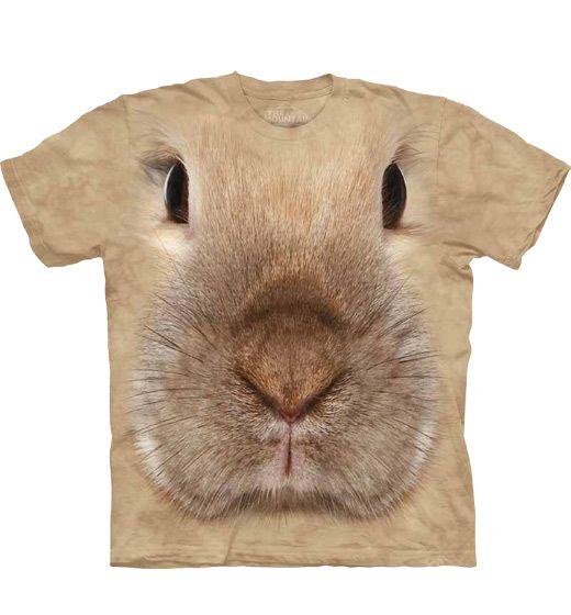 Konijnen T-shirt Face