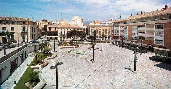 Plaza de la Balsa Vieja . Totana . Murcia