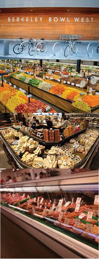 Berkeley Bowl, Berkeley, CA. Plenty of everything foodwise.