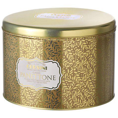 Buy Corsini Gold Tin Classic Panettone, 1kg Online at johnlewis.com