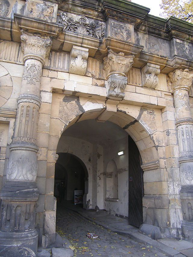 Zamek_Piastowski_w_Legnicy. Portal zamku